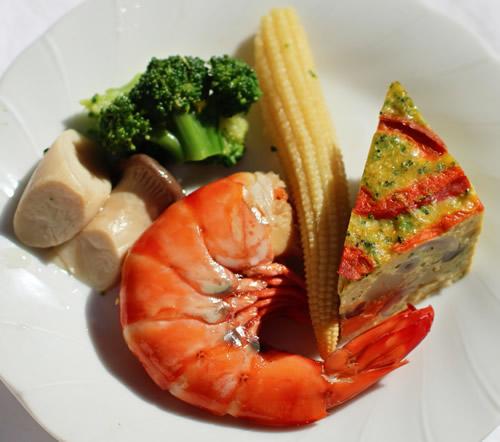 天然海老の含め煮