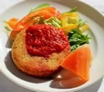 ひよこ豆のファラフェル 自家製トマトソース