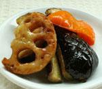 季節野菜の日替わりデリ