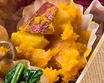 カボチャとサツマイモの秋サラダ