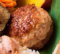 神山鶏のしいたけ詰め 有機醤油の照り焼き