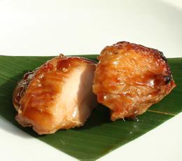 神山地鶏もも肉の照り焼き