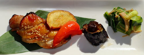 秋川牧園鶏肉の照り焼き