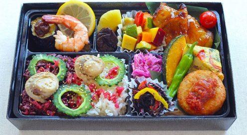 夏の彩りおもてなし弁当<br />※5月18日からお届けイメージ画像