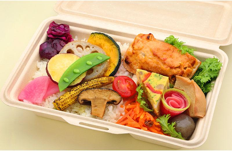 鮭の味噌胡麻マヨネーズ焼き弁当(胚芽米)