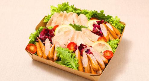 自家製<br />鶏ハムとソーセージイメージ画像
