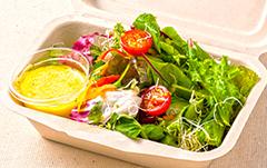 オーガニックグリーンサラダ