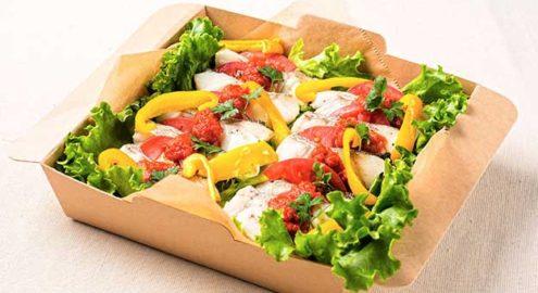 宮古港直送<br />白身魚のオーブン焼き<br /> 自家製トマトソースイメージ画像