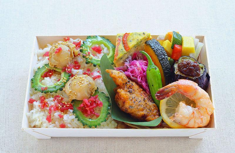 夏の彩り味覚弁当